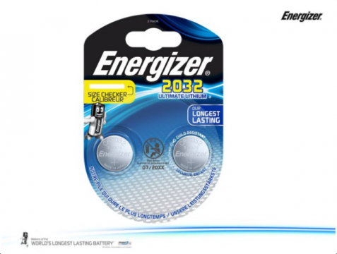 CR2032 duo ENERGIZER Lithium Ultimate